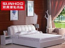 卧室软床套装1.5/1.8米双人婚床皮床皮艺家具组合RC1