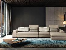 飞澳普布艺沙发大小户型可拆洗组合简约现代家具客厅转角布沙发