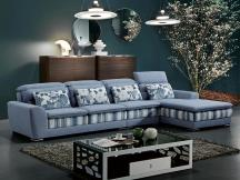 布艺转角组合沙发客厅多功能储物布艺沙发沙发床