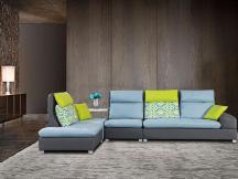 个性布艺转角组合沙发
