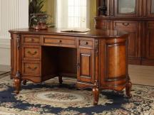 实木复古书台书桌