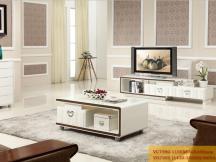 新红阳家具 城市风景宜木系列 茶几电视柜组合VC7590 VD7200