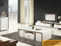 新红阳家具 城市风景宜木系列 茶几电视柜组合VC7595 VD7202