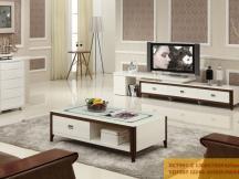新红阳家具 城市风景宜木系列 茶几电视柜组合VC7597-2 VD7207