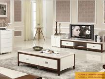 新红阳家具 城市风景宜木系列大理石茶几电视柜VC7598-1 VD7205-1