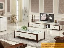 新红阳家具 城市风景宜木系列大理石茶几电视柜VC7598-2 VD7208