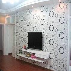 秒杀墙纸PVC自粘壁纸卧室客厅装饰壁纸