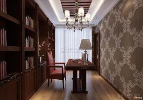 欧美风格书房装修案例