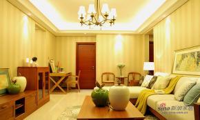 9万装105平淡雅中式3居室